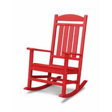 View Product - Presidential Rocking Chair in Sunset Red