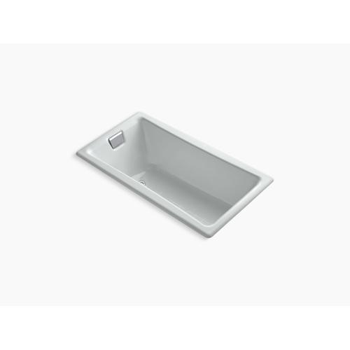 """Ice Grey 60"""" X 32"""" Drop-in Bath With Reversible Drain"""