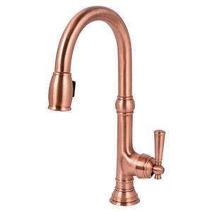 Antique Copper Pull-down Kitchen Faucet