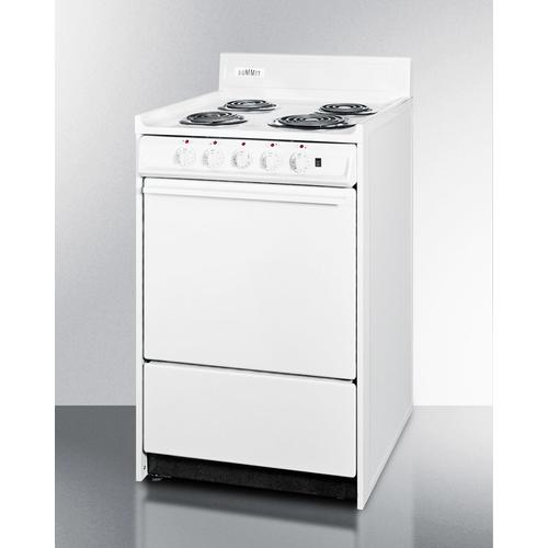 """Gallery - 20"""" Wide Electric Coil Top Range"""