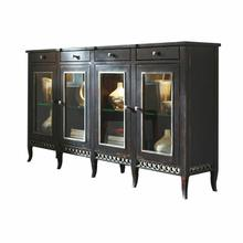 Soho Sideboard with Glass Doors