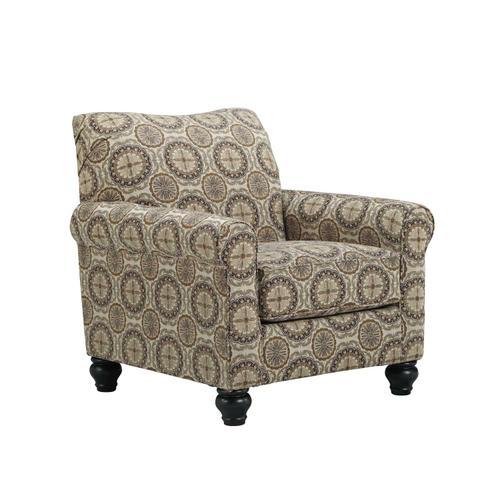 Breville Accents Accent Chair Burlap