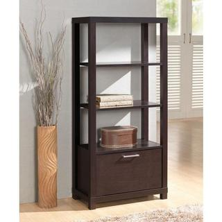 BOOKCASE W/3 SHELVES & DOOR