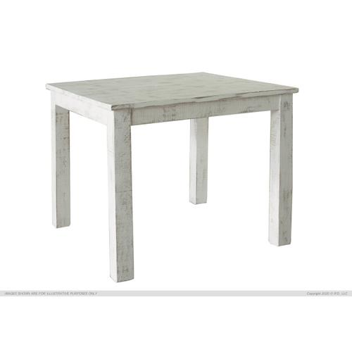 "42"" Counter Table - White Finish"