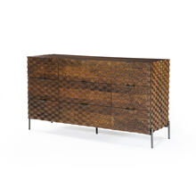 Raffael 9 Drawer Dresser-antique Brown