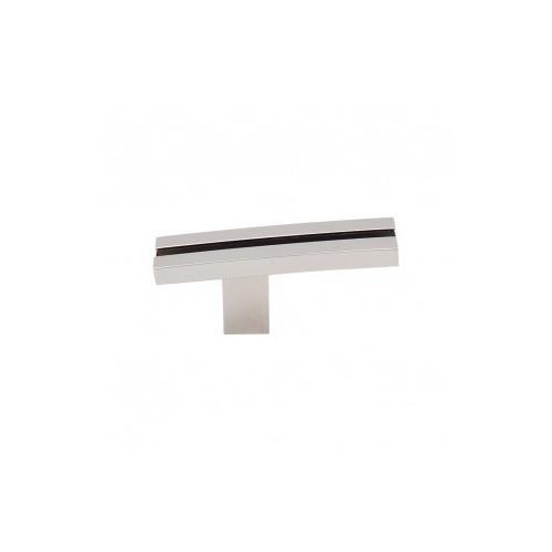Product Image - Inset Rail Knob 2 5/8 Inch - Polished Nickel