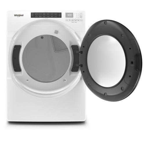 Whirlpool Canada - 7.4 cu. ft. Front Load Electric Dryer with Steam Cycles
