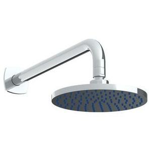 "Wall Mounted Showerhead, 7""dia, With 14"" Arm and Flange"