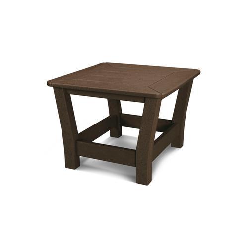 Mahogany Harbour Slat End Table