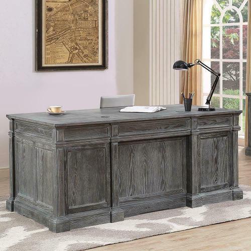 GRAMERCY PARK Double Pedestal Executive Desk