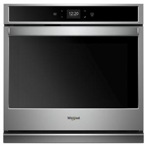 5.0 cu. ft. Smart Single Wall Oven with Touchscreen - STAINLESS STEEL