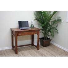 "A-T370 Traditional Alder 36"" Laptop Desk"