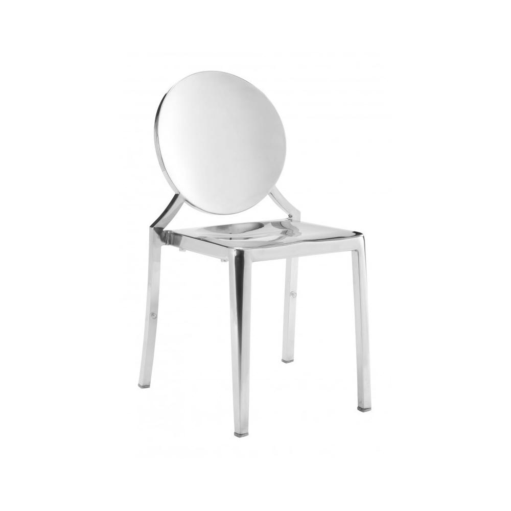 See Details - Eclipse Dining Chair Stainless Steel
