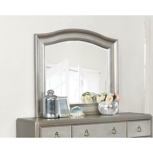 Product Image - Bling Game Dresser Mirror With Arched Top