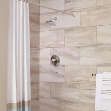 Fluent Shower Only Trim with Pressure Balance Cartridge  American Standard - Polished Chrome