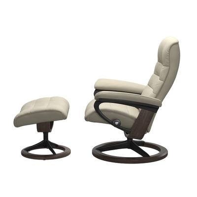 See Details - Stressless® Opal (L) Signature chair with footstool