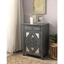 GRAY-BLUE FLOOR CABINET
