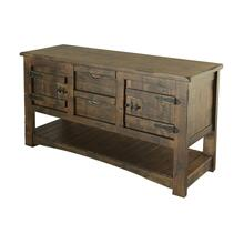 See Details - Sofa Table w/2 Drawer & 2 Doors