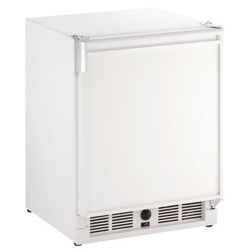 "U-Line - 21"" Refrigerator/ice Maker With White Solid Finish (230 V/50 Hz Volts /50 Hz Hz)"