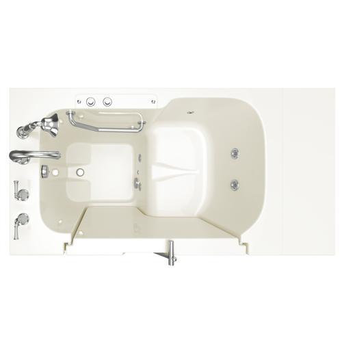 American Standard - Gelcoat Value Series 32x52 Walk-in Whirlpool Tub  American Standard - Linen