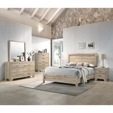 Miquell Natural Queen Bed (28040)