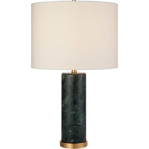 AERIN Cliff 30 inch 150 watt Green Marble Table Lamp Portable Light