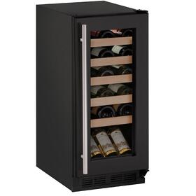 "15"" Wine Refrigerator With Black Frame Finish (115 V/60 Hz Volts /60 Hz Hz)"