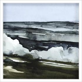 Watercolor Waves IV
