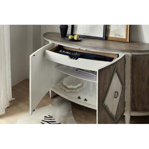 Hooker Furniture - Sanctuary Et Jolie Demilune Buffet