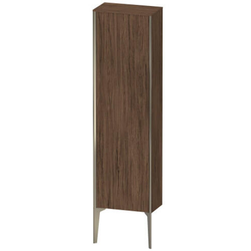 Duravit - Semi-tall Cabinet Floorstanding, Walnut Dark (decor)