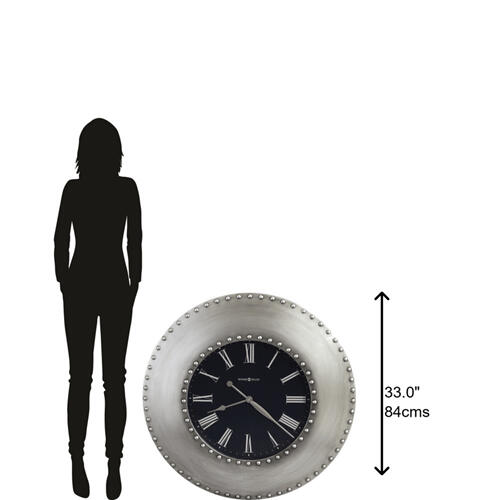 Howard Miller Bokaro Oversized Wall Clock 625610