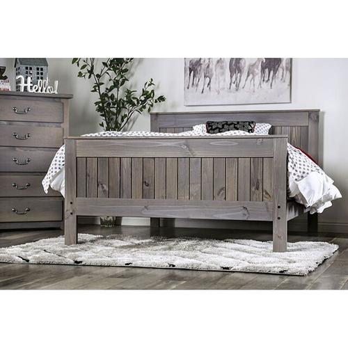 Furniture of America - Queen-Size Rockwall Bed