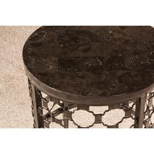 Brescello Round End Table