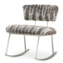 Pebblebeach Rocker Chair Mnd Brushedsilver