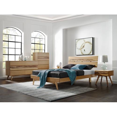 Greenington Fine Bamboo Furniture - Azara California King Platform Bed, Caramelized