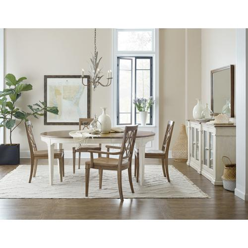 Hooker Furniture - Montebello Wood Seat Side Chair