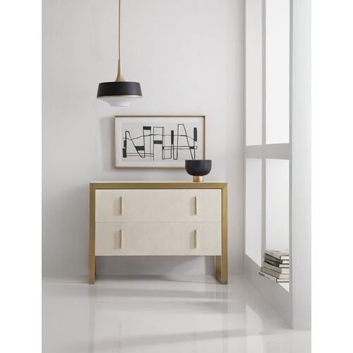 Living Room Melange Aria Two-Drawer Chest