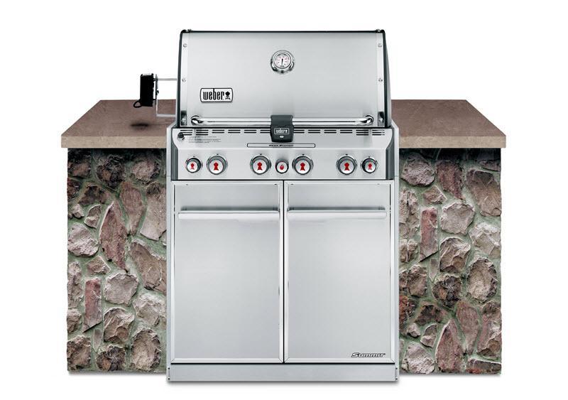 WeberSummit® S-460™ Lp Gas Grill - Stainless Steel