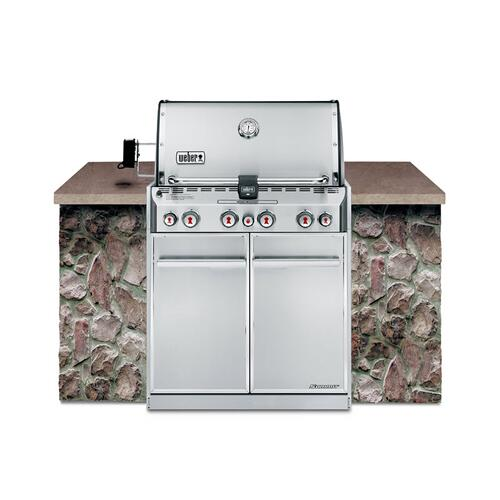 Weber - SUMMIT® S-460™ LP GAS GRILL - STAINLESS STEEL