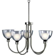 See Details - 5-lite Ceiling Lamp, Ss W/inner-frost Glass, 50wx5/jcd, Dci