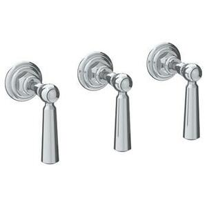 Wall Mounted 3-valve Shower Trim