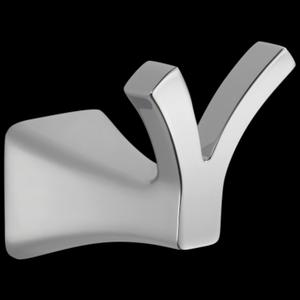 Chrome Double Robe Hook Product Image