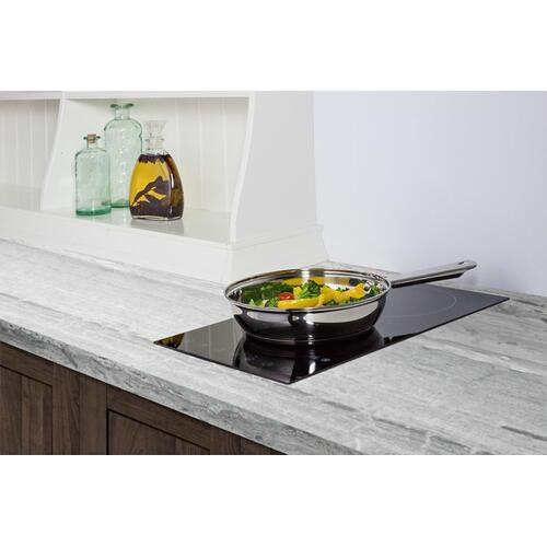 Product Image - 230v 2-burner Cooktop In Black Ceramic Schott Glass With Digital Touch Controls, 3000w