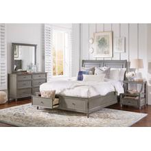 Avignon Grey Twin Panel Footboard