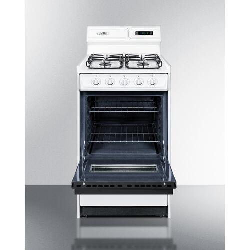 "20"" Wide Gas Range"