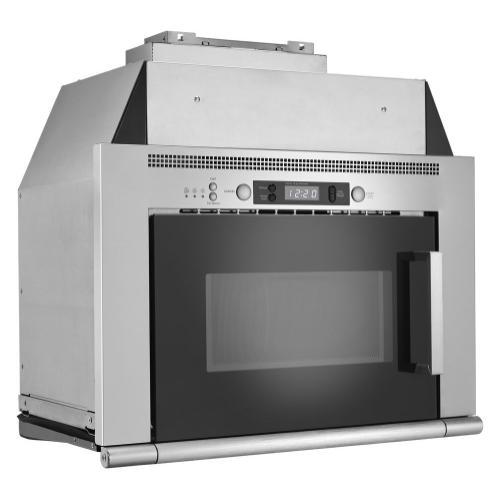 Whirlpool - 0.8 cu. ft. Space-Saving Microwave Hood Combination