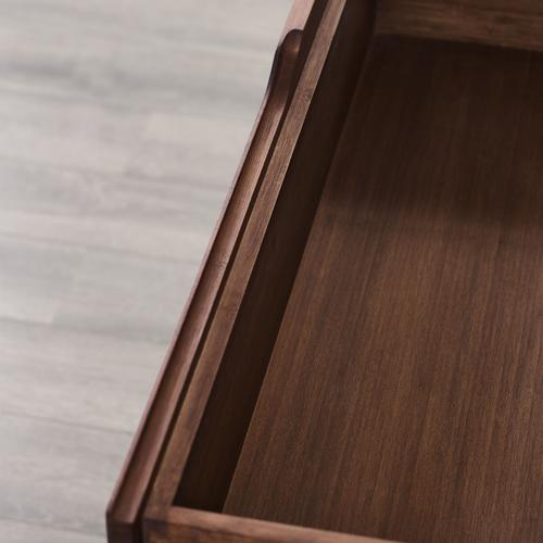 Currant Nightstand, Oiled Walnut