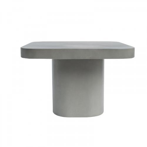 VIG Furniture - Modrest Flores Modern Grey Concrete End Table