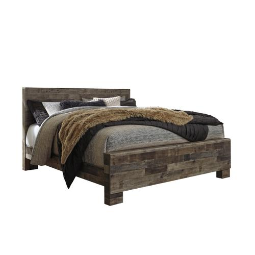 Derekson King Panel Bed Multi