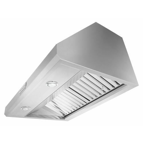"""KitchenAid - 36"""" 585 or 1170 CFM Motor Class Commercial-Style Wall-Mount Canopy Range Hood - Stainless Steel"""